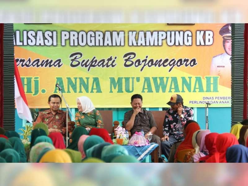 Bojonegoro Kendalikan Ledakan Penduduk dengan Program Kampung KB