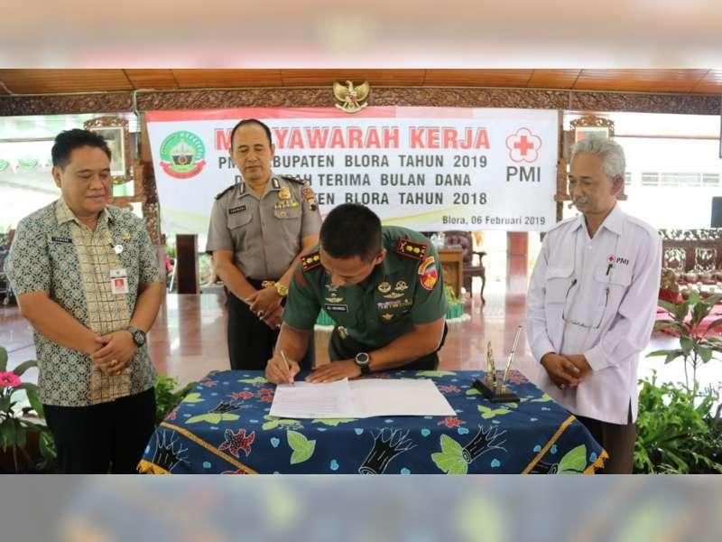 PMI Blora Gelar Musyawarah Kerja 2019
