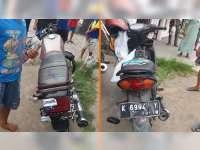 Kecelakaan Motor di Padangan Bojonegoro, Seorang Pemotor Luka Berat