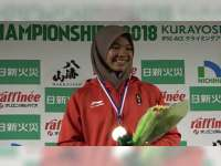 Atlet Panjat Tebing Blora, Agustina Sari, Masuk Tim Pelatnas Olimpiade