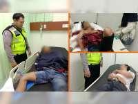 Kecelakaan Beruntun di Padangan Bojonegoro, 3 Orang Luka Berat