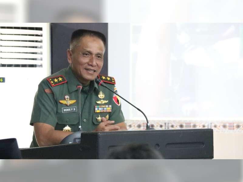 Pangdam V Brawijaya Lakukan Kunjungan Kerja Pertama di Kabupaten Bojonegoro