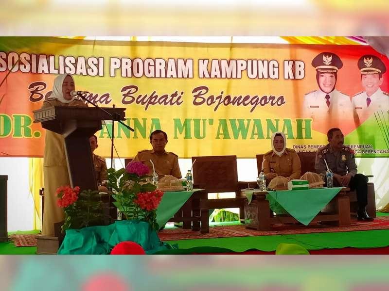 Bupati Bojonegoro Gelar Safari dan Sosialisasikan Program Kampung KB