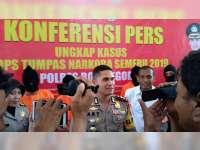 Polres Bojonegoro Tangkap 4 Orang Yang Kedapatan Miliki Sabu-Sabu