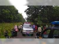 Tabrakan Motor di Bubulan Bojonegoro, Seorang Pengendara Luka Berat