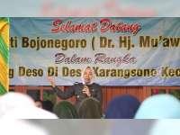 Bupati Bojonegoro Sosialisasi Penguatan Program PKH di Desa Karangsono Kecamatan Dander