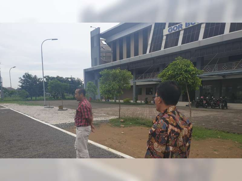 KONI Jatim Lakukan Survey Kesiapan Venue Untuk Porprov 2019 di Bojonegoro