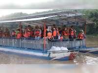 Kunjungan Kerja di Bojonegoro, Wagub Jatim Susuri Aliran Sungai Bengawan Solo