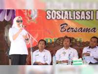 Bupati Bojonegoro Sosialisasikan Program Kampung KB di Kasiman