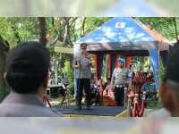 Peringati HPSN, Kapolres Bojonegoro Ajak Masyarakat Peduli Sampah
