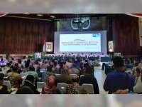 Wakil Bupati Bojonegoro Hadiri Rakernas dan Launching Gerakan Indonesia Bersih