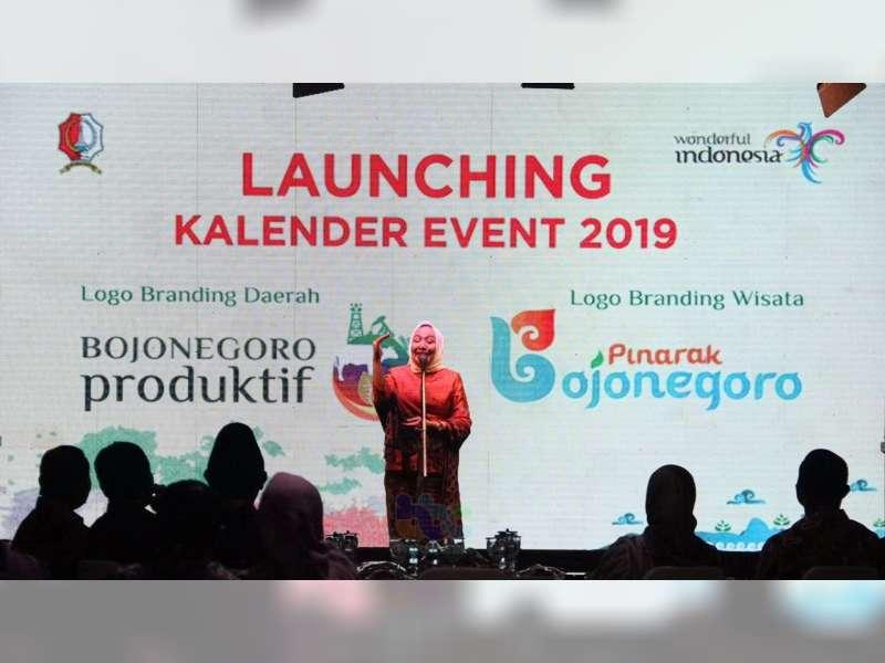 Bupati Bojonegoro Perkenalkan Logo dan Tagline, Bojonegoro Produktif dan Pinarak Bojonegoro