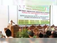 Bupati Bojonegoro Hadiri Pembinaan Pendidik dan Tenaga Kependidikan di Baureno