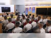 25 Bintara Remaja Asal Bojonegoro Mendapatkan Arahan dari Kapolres