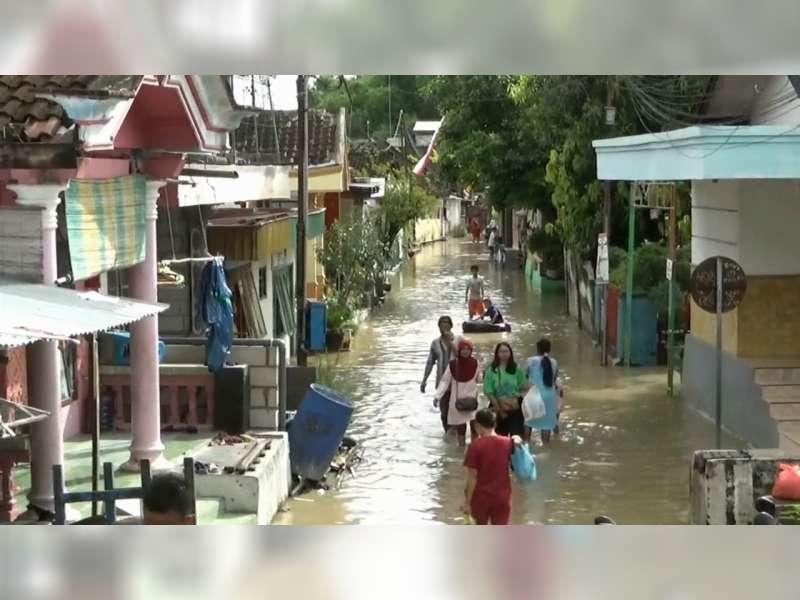 38 Desa di Bojonegoro Tergenang Banjir Bengawan Solo, Kerugian Capai Rp 4 Miliar