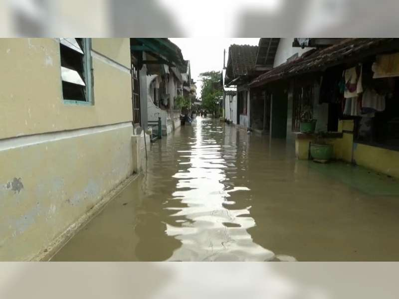 Banjir Bengawan Solo di Bojonegoro Kota Terus Turun Mendekati Siaga Hijau