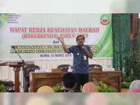 Bupati Minta Seluruh Stekholder Ikut Pantau Angka Stunting di Kabupaten Blora