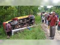 Terguling, Pengemudi Truk Proyek Waduk Gongseng di Temayang Bojonegoro Meninggal Dunia