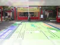 Polres Bojonegoro Paparkan Sistem Pengamanan Kota, Melalui Tactical Floor Games