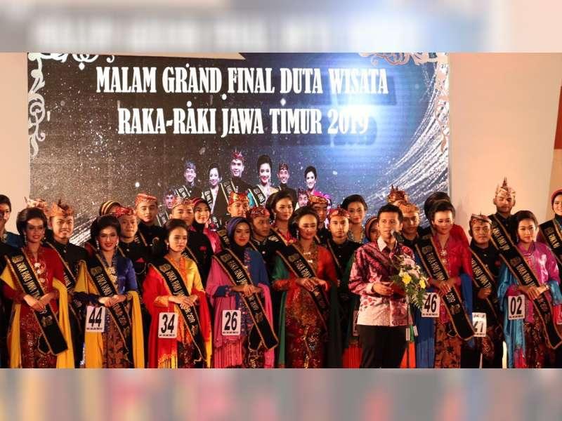 Wakil Bupati Bojonegoro Hadiri Malam Grand Final Duta Wisata Raka Raki 2019