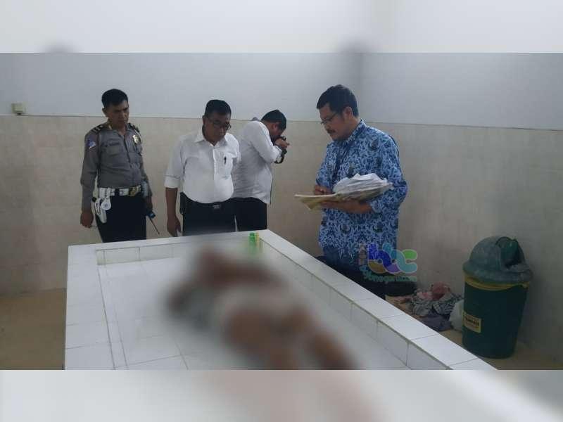 Mayat Yang Ditemukan di Jalan Sawunggaling Bojonegoro, Diduga Akibat Gagal Jantung
