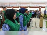 Bupati Bojonegoro Kukuhkan Satgas Perlindungan Perempuan dan Anak