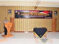 Polres Blora Canangkan Zona Integritas Menuju Wilayah Bebas Korupsi