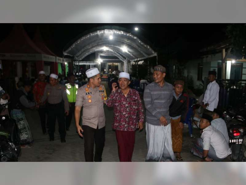 Hadiri Pengajian, Kapolres Bojonegoro Ajak Masyarakat Jaga Kamtibmas Jelang Pemilu