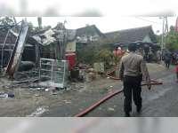 Kebakaran POM Mini di Tambakrejo Bojonegoro, Satu Orang Luka-Luka