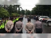 Polres Bojonegoro Terjunkan Dua SSK untuk Pengamanan Apel Kebangsaan GP Ansor