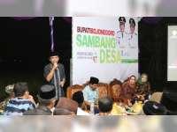 Sambang Desa, Wakil Bupati Bojonegoro Sosialisasi Bahaya Penyalahgunaan Narkoba
