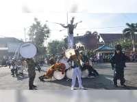 Marching BandTaruna Satlak Hiu Latsitardanus ke-39, Pukau Warga Kota Bojonegoro