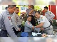 Polres Bojonegoro Laksanakan Pemeriksaan Kesehatan, Anggota PengamananTPS