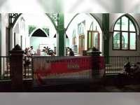 Warga Perumda Blora Pasang Spanduk Tolak Kegiatan Politik di Tempat Ibadah
