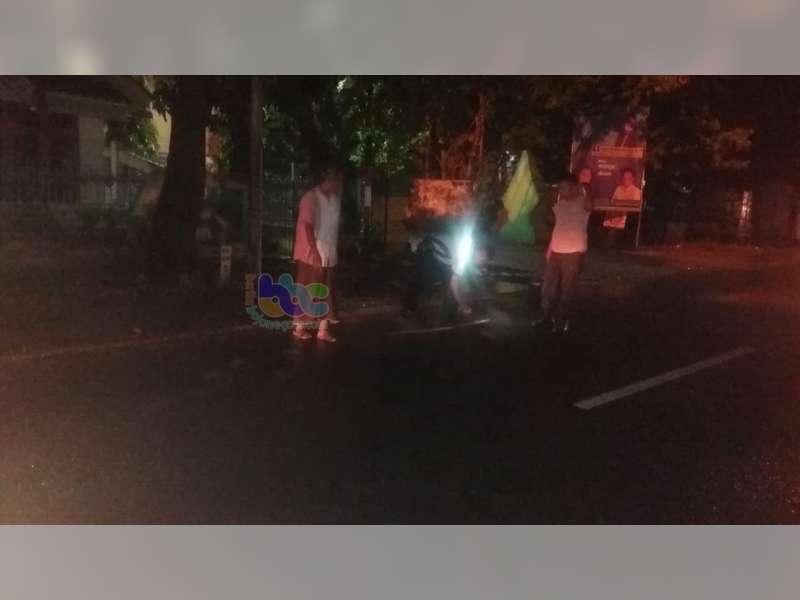 Tabrak Lari di Kapas Bojonegoro, Seorang Perempuan Pengendara Motor Tewas di TKP