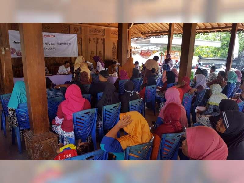 EMCL Kembali Gelar Pengobatan Gratis Bagi Warga Kecamatan Gayam Bojonegoro