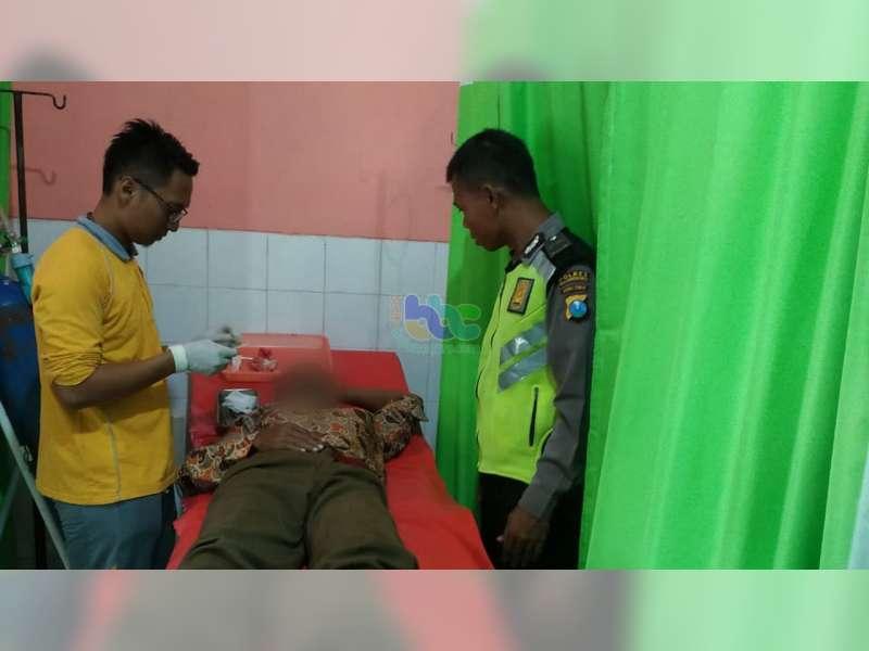 Kecelakaan Motor di Ngraho Bojonegoro, Seorang Pengendara Luka Berat