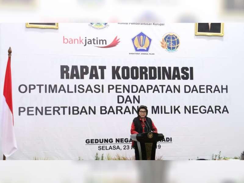 Wakil Bupati Bojonegoro Hadiri Rakor Optimalisasi Pendapatan Daerah