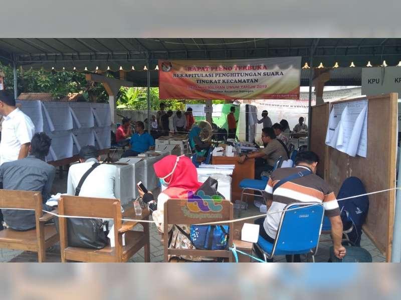 Tinggal 2 PPK di Bojonegoro Yang Belum Selesaikan Rekapitulasi Penghitungan Suara