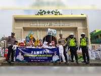 Sat Lantas Polres Bojonegoro Sosialisasi Keselamatan Berlalu-Lintas Pada Anak PAUD