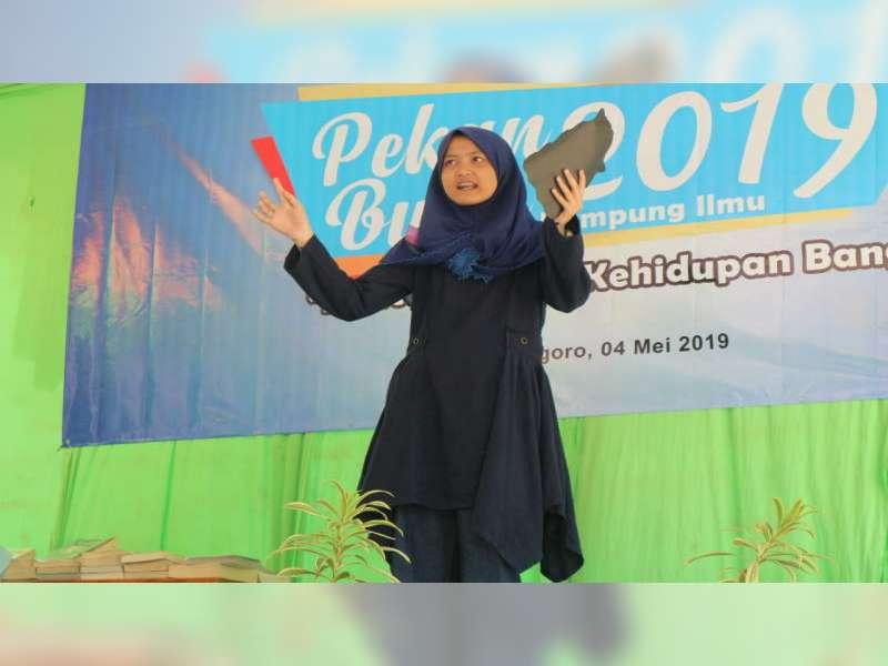 Pekan Buku Kampung Ilmu 2019 di Purwosari Bojonegoro, Berlangsung Meriah