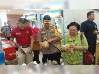 Polres Bersama Instansi Terkait di Blora Sidak Pasar Swalayan