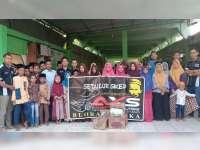 Komunitas AXS Blora Mustika, Bakti Sosial di Panti Darul Hadlonah