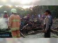 Lagi, Diduga Akibat Korsleting Listrik Rumah Warga Kepohbaru Bojonegoro Ludes Terbakar