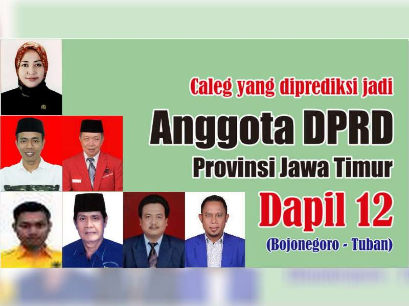 Profil Caleg Yang Diperkirakan Lolos Jadi Anggota DPRD Provinsi Jawa Timur Dapil 12