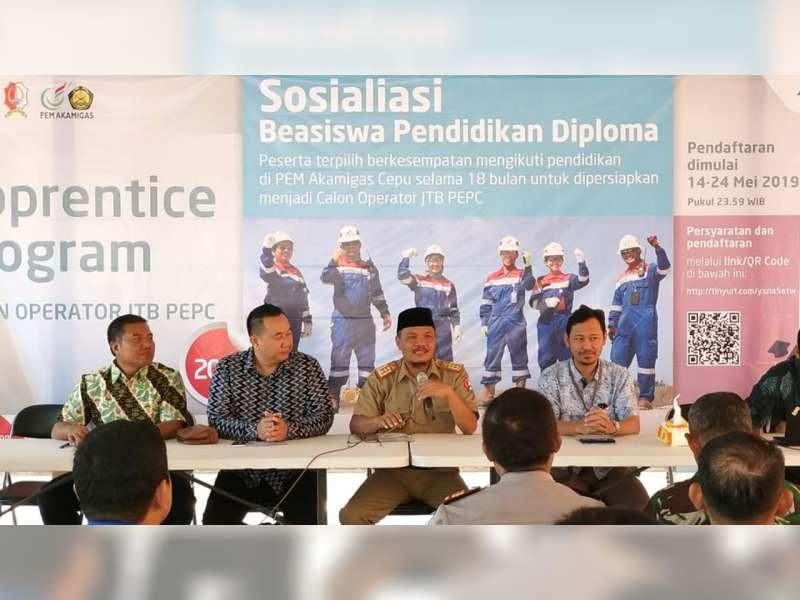 Pertamina EP Cepu Jaring Calon Operator JTB Melalui Apprentice Program