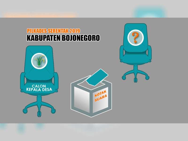 Pilkades Serentak di Bojonegoro, 4 Desa Laksanakan Pendaftaran Bakal Calon Tambahan