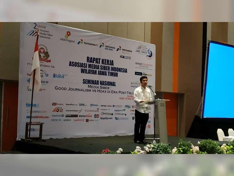 Wagub Emil Dardak: Media Siber Jadi Rujukan Media Sosial