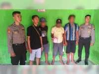 Kedapatan Pesta Miras, 7 Pemuda di Kanor Bojonegoro Diamankan Polisi