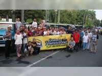 Kapolres Bersama Komunitas Offroad, Bagi Takjil di Alun-Alun Bojonegoro